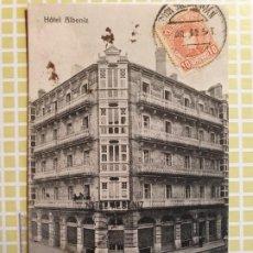 Postales: SAN SEBASTIAN HOTEL ALBENIZ. Lote 199391683