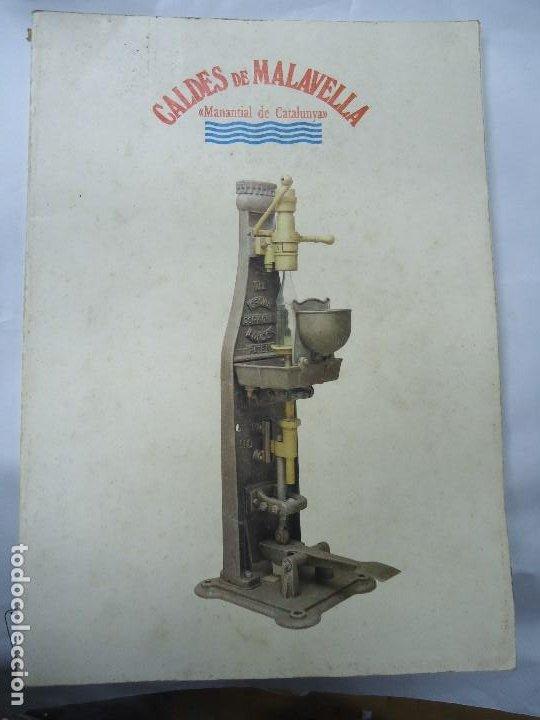 CALDES DE MALAVELLA. MANANTIAL DE CATALUNYA.CATALEG DE L'EXPOSICIO. 1987 CON 111 PÁGINAS PROFUSAMENT (Postales - Postales Temáticas - Hoteles y Balnearios)