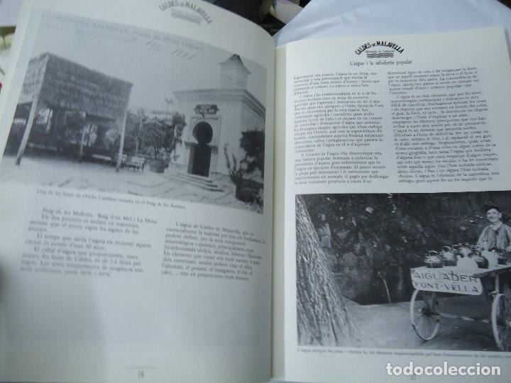 Postales: CALDES DE MALAVELLA. MANANTIAL DE CATALUNYA.CATALEG DE LEXPOSICIO. 1987 con 111 páginas profusament - Foto 2 - 200657413