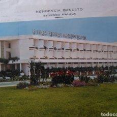Postales: TARJETA POSTAL RESIDENCIA SAN JAIME DEL BANCO ESPAÑOL DE CRÉDITO, ESTEPONA MÁLAGA COSTA DEL SOL. Lote 204804865