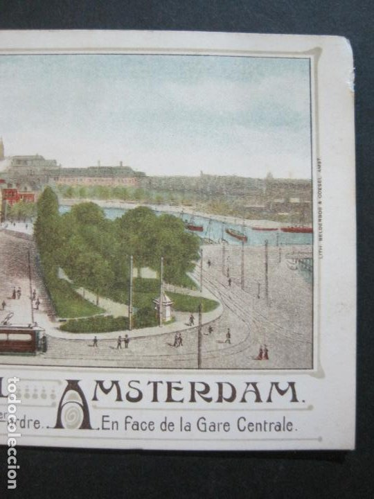 Postales: HOLANDA-ASMTERDAM-VICTORIA HOTEL-TARJETA DE PUBLICIDAD ANTIGUA-VER FOTOS-(V-20.171) - Foto 4 - 205039417