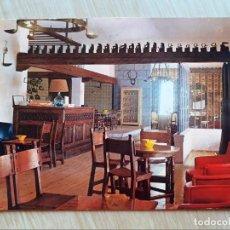 Postales: TARJETA POSTAL - BURGOS - CARRETERA MADRID IRUN - HOSTAL LANDA PALACE. Lote 205885740