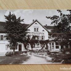 Postales: TARJETA POSTAL - HOTEL STIFTSMÜHLE BEI HEIDELBERG PLAYA RESTAURANTE CAFÉ. Lote 206357587
