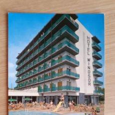 Postales: TARJETA POSTAL - 1977 GIRONA HOTEL WINDSOR - LLORET DE MAR. Lote 206428348