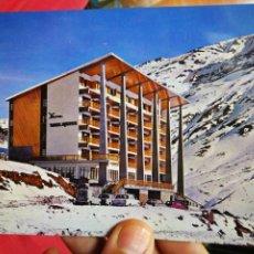 Postales: POSTAL HOTEL EDELWEISS ESTACIÓN INVERNAL CANDANCHU HUESCA SICILIA S/C. Lote 206457560