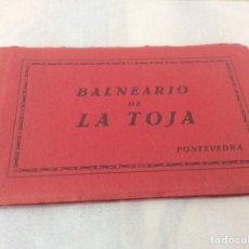Postales: 10 VISTAS BALNEARIO DE LA TOJA - COMPLETO. Lote 206786217