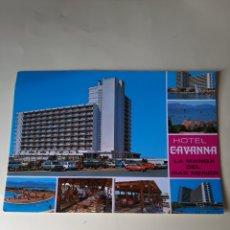 Postales: 1982 MURCUA HOTEL CABAÑA MANGA MAR MENOR. Lote 206796151