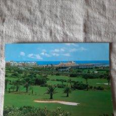 Postales: ALMERIMAR ALMERÍA CAMPO GLT Y HOTEL ALMERIMAR PROGRAMA LA TARDE MADRID. Lote 206855701
