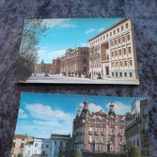 Postales: ALBACETE PLAZA CAUDILLO Y GRAN HOTEL EDICIONES GARCIA GARRABELLA. Lote 206867678