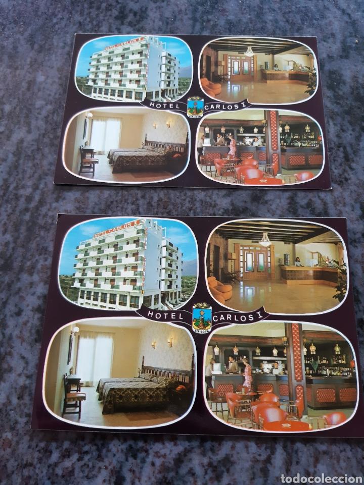 HOTEL CARLOS I BENIDORM ESPAÑA POSTALES GALIANA (Postales - Postales Temáticas - Hoteles y Balnearios)