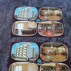 Postales: HOTEL CARLOS I BENIDORM ESPAÑA POSTALES GALIANA. Lote 206869711