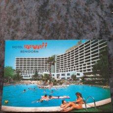 Postales: 1984 HITEL GAWAII BENIDORM ALICANTE MATASELLO EDICIONES POSTALES GALIANA. Lote 206870986