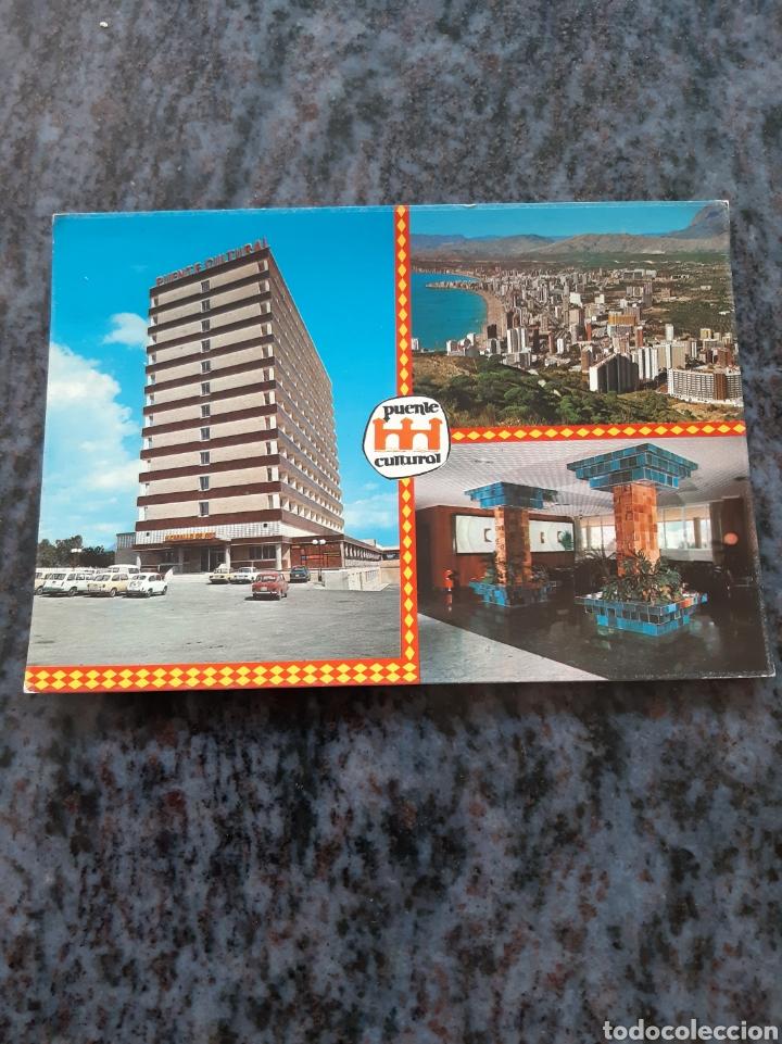 HITE PUENTE CULTURAL BENITO ALICANTE EDICIONES HERMANOS GALIANA L CABALLO DE ORO (Postales - Postales Temáticas - Hoteles y Balnearios)