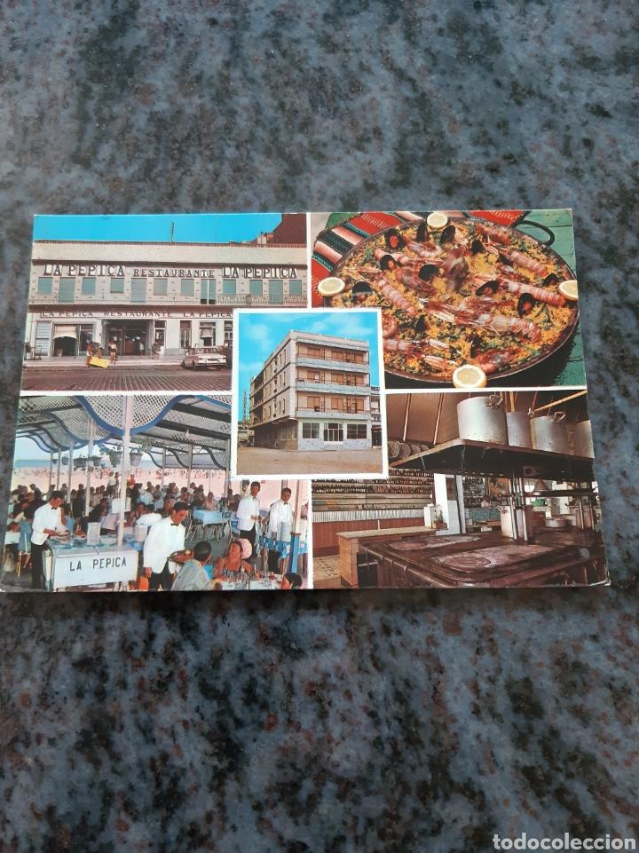 RESTAURANTE HOTEL PEPICA ZERKOWITZ BARCELONA (Postales - Postales Temáticas - Hoteles y Balnearios)