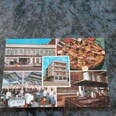 Postales: RESTAURANTE HOTEL PEPICA ZERKOWITZ BARCELONA. Lote 206880613