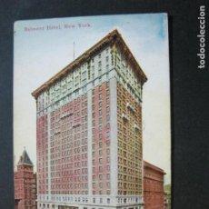 Postales: NEW YORK-BELMONT HOTEL-POSTAL ANTIGUA-(71.134). Lote 206937415