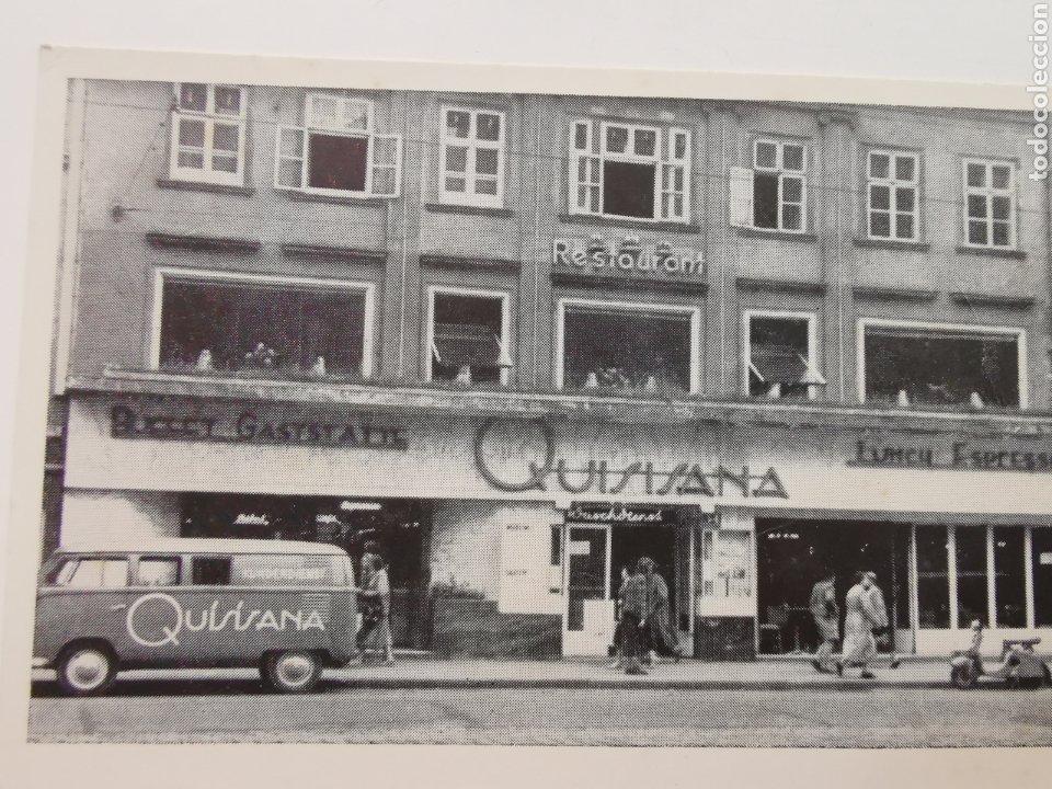 Postales: Postal del Restaurante Quisisana de Viena Austria. Osterreich. 1950s 1960s - Foto 2 - 206946190