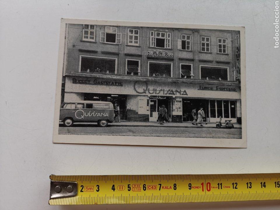 POSTAL DEL RESTAURANTE QUISISANA DE VIENA AUSTRIA. OSTERREICH. 1950'S 1960S (Postales - Postales Temáticas - Hoteles y Balnearios)