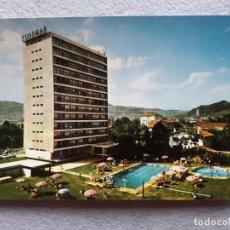 Postales: ZARAUZ. HOTEL EUROMAR. PISCINAS. TENIS. SALA DE FIESTAS.. Lote 206961777
