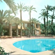 Postales: ELCHE. 53 HOTEL HUERTO DEL CURA. PISCINA CLIMATIZADA. ED. ARRIBAS. NUEVA. COLOR. Lote 207014332