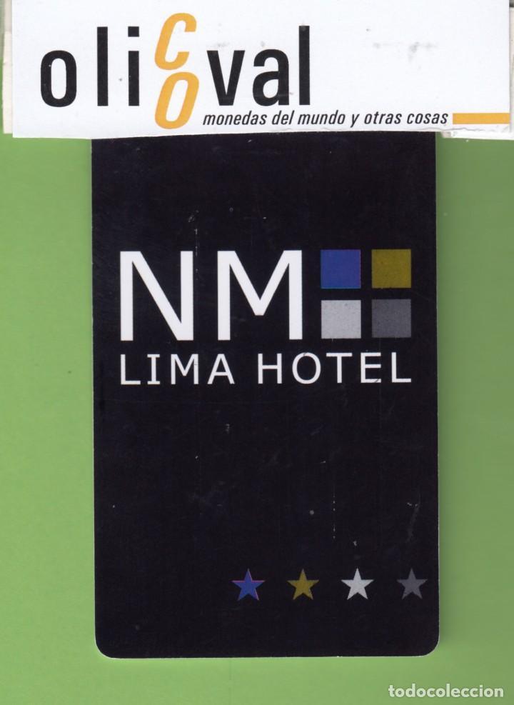 TARJETA HOTEL PERÚ LIMA HOTEL LIMA TH0018 (Postales - Postales Temáticas - Hoteles y Balnearios)