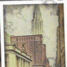 Postales: POSTAL * NEW YORK , HOTEL COMMODORE * AÑOS 50. Lote 207954921