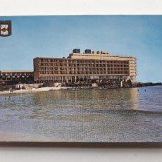 Postales: HOTEL GALUA. HACIENDA DOS MARES. LA MANGA DEL MAR MENOR. FRANQUEADA EL 4 DE AGOSTO DE 1980.. Lote 208048092