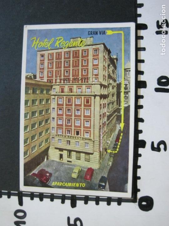 Postales: MADRID-HOTEL REGENTE-EDICIONES MORAN-POSTAL PUBLICIDAD ANTIGUA-(71.885) - Foto 4 - 209209572