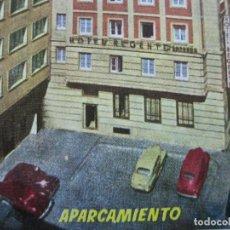 Postales: MADRID-HOTEL REGENTE-EDICIONES MORAN-POSTAL PUBLICIDAD ANTIGUA-(71.885). Lote 209209572