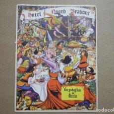 Cartes Postales: HOTEL NOORD BRABANT. RESTAURANT LE FIN BEC. UTRECHT. Lote 210402626