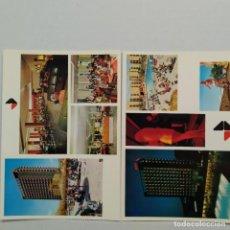 Postales: HOTEL PUEBLO, BENIDORM, GRUPO HOTELES BARCELÓ, LOTE DE 2 POSTALES. Lote 210583855
