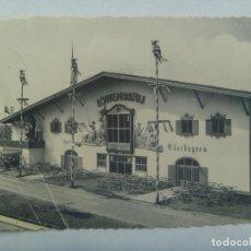 Postales: POSTAL DE UN HOTEL O SIMILAR EN BELGICA, OBERBAYERN. CIRCULADA A VALLADOLID EN 1958. Lote 210963767