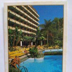 Postales: POSTAL HOTEL PUERTO DE LA CRUZ. HOTELES MELIÁ GRUPO SOL AÑO 1989 SIN CIRCULAR. Lote 211521025
