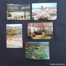 Postales: 5 POSTALES ANDALUCÍA MÁLAGA MARBELLA HOTEL LOS MONTEROS AÑOS 60 - (P64). Lote 212550122