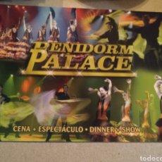 Postales: BENIDORM PALACE. CENA ESPECTÁCULO. SIN CIRCULAR. Lote 220604092
