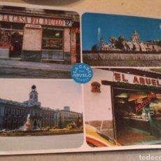 Postales: BAR RESTAURANTE LA CASA DEL ABUELO. SIN CIRCULAR. Lote 220901148