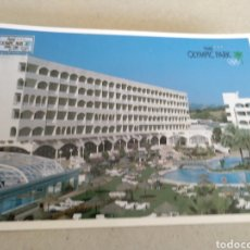Postales: HOTEL OLYMPIC PARK LLORET DE MAR GIRONA. ESCRITO. Lote 221380206