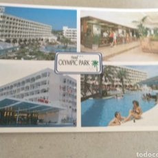 Postales: HOTEL OLYMPIC PARK. LLORET DE MAR. GIRONA. SIN CIRCULAR. Lote 221380398