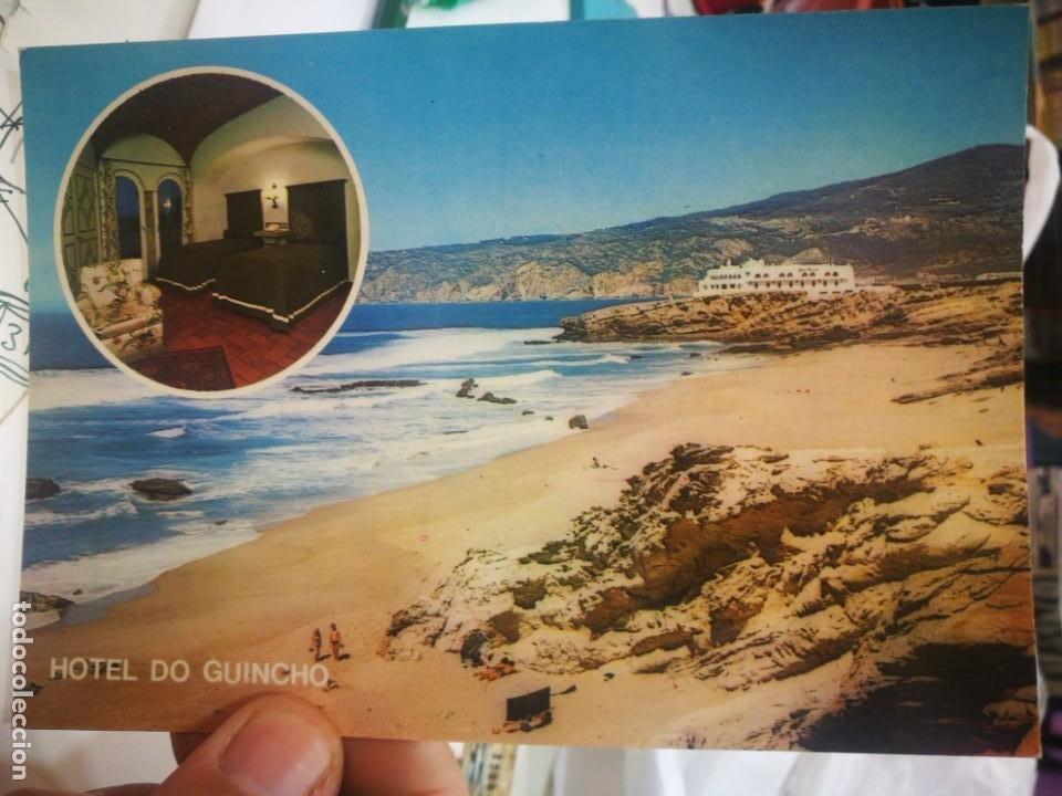 POSTAL HOTEL DO GUINCHO CASCAIS PORTUGAL ESCRITA (Postales - Postales Temáticas - Hoteles y Balnearios)