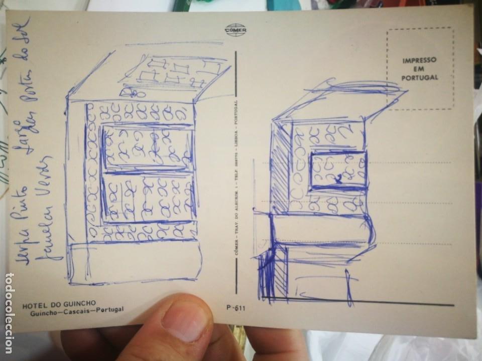 Postales: Postal HOTEL DO GUINCHO Cascais Portugal escrita - Foto 2 - 221933341