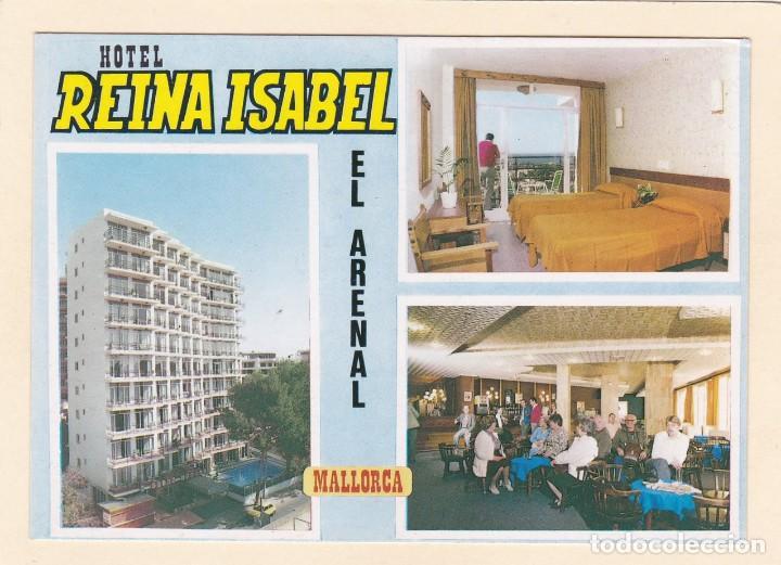 POSTAL HOTEL REINA ISABEL. EL ARENAL. MALLORCA (1984) (Postales - Postales Temáticas - Hoteles y Balnearios)