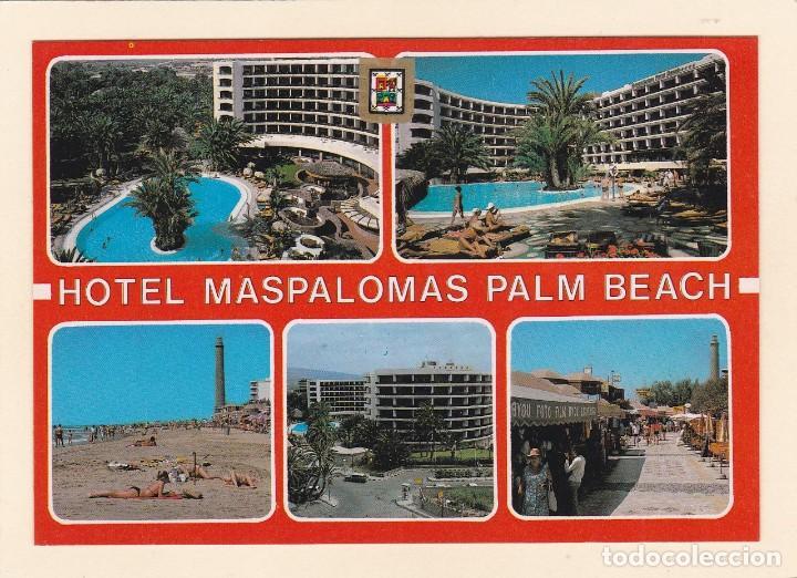 POSTAL HOTEL MASPALOMAS PALM BEACH. MASPALOMAS. GRAN GANARIA (1981) (Postales - Postales Temáticas - Hoteles y Balnearios)