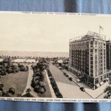 Postales: HOTEL DEL PRADO CHICAGO CIRCULADA. Lote 222224342