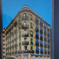 Postales: HOTEL BIARRITZ SAN SEBASTIAN GUIPÚZCOA POSTAL COLOR - ORIGINAL. Lote 223879352
