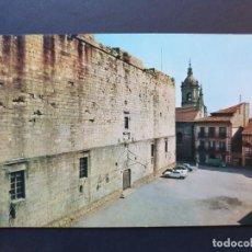 Postales: PARADOR NACIONAL EL EMPERADOR FUENTERRABIA - HONDARRIBIA GUIPÚZCOA POSTAL COLOR - ORIGINAL. Lote 223879676