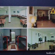 Cartes Postales: ALBERGUE JUVENIL JS ELCANO FUENTERRABIA - HONDARRIBIA GUIPÚZCOA POSTAL COLOR ORIGINAL. Lote 223879883