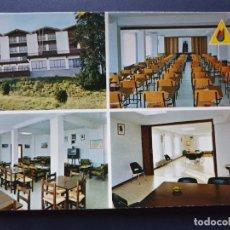 Cartes Postales: ALBERGUE JUVENIL JS ELCANO FUENTERRABIA - HONDARRIBIA GUIPÚZCOA POSTAL COLOR ORIGINAL. Lote 223879997