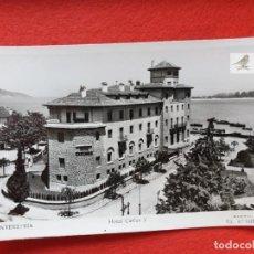 Postales: FUENTERRABIA - HONDARRIBIA GUIPÚZCOA POSTAL ANTIGUA ORIGINAL HOTEL CARLOS V. Lote 224623277