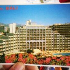 Postales: POSTAL HOTEL BALI COSTA DEL SOL BENALMÁDENA COSTA MÁLAGA CORCOLES S/C. Lote 225732293
