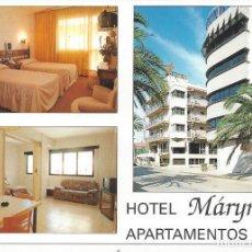 Postales: POSTAL PUBLICIDAD HOTEL MARYNTON DE BENICARLO.. Lote 226266216